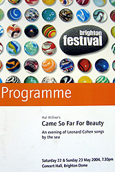 Came So Far for Beauty programme cover
