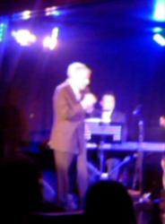 Leonard Cohen at the Cuckoo Club