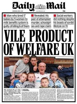 Daily Mail front page 3/4/13